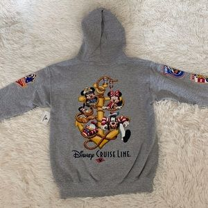 Classic Disney Cruise Line kids hoodie